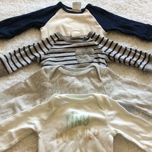 Newborn Longsleeve Bodysuit Bundle